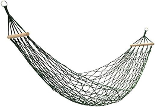LXFA Hamacas Jardin Exterior, Hamaca Colgantes Playa Plegable, Adecuado para Jardín Interior Camping y Viajes, 260x100cm, Cuerda de Nylon de Camuflaje Personalizada, tirón Fuerte: Amazon.es: Deportes y aire libre