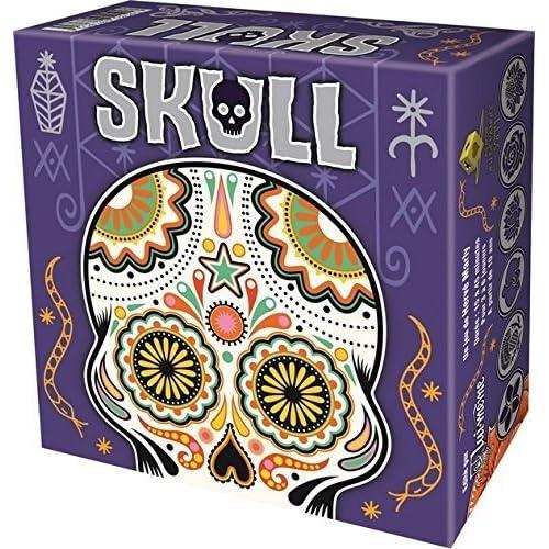 Asmodee SKR01N - Skull - Jeux de Cartes - Argent