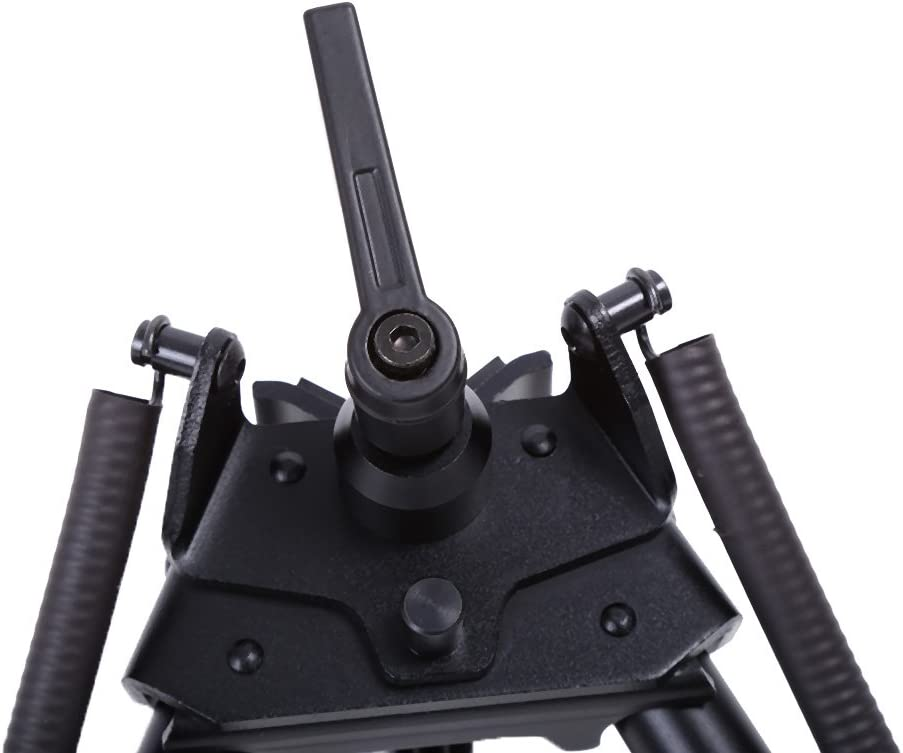 Size : #3//14-22 Tactical Rifle Bipod Adjustable Handy Spring Return Sniper Sling Swivel Mount Aluminum Alloy