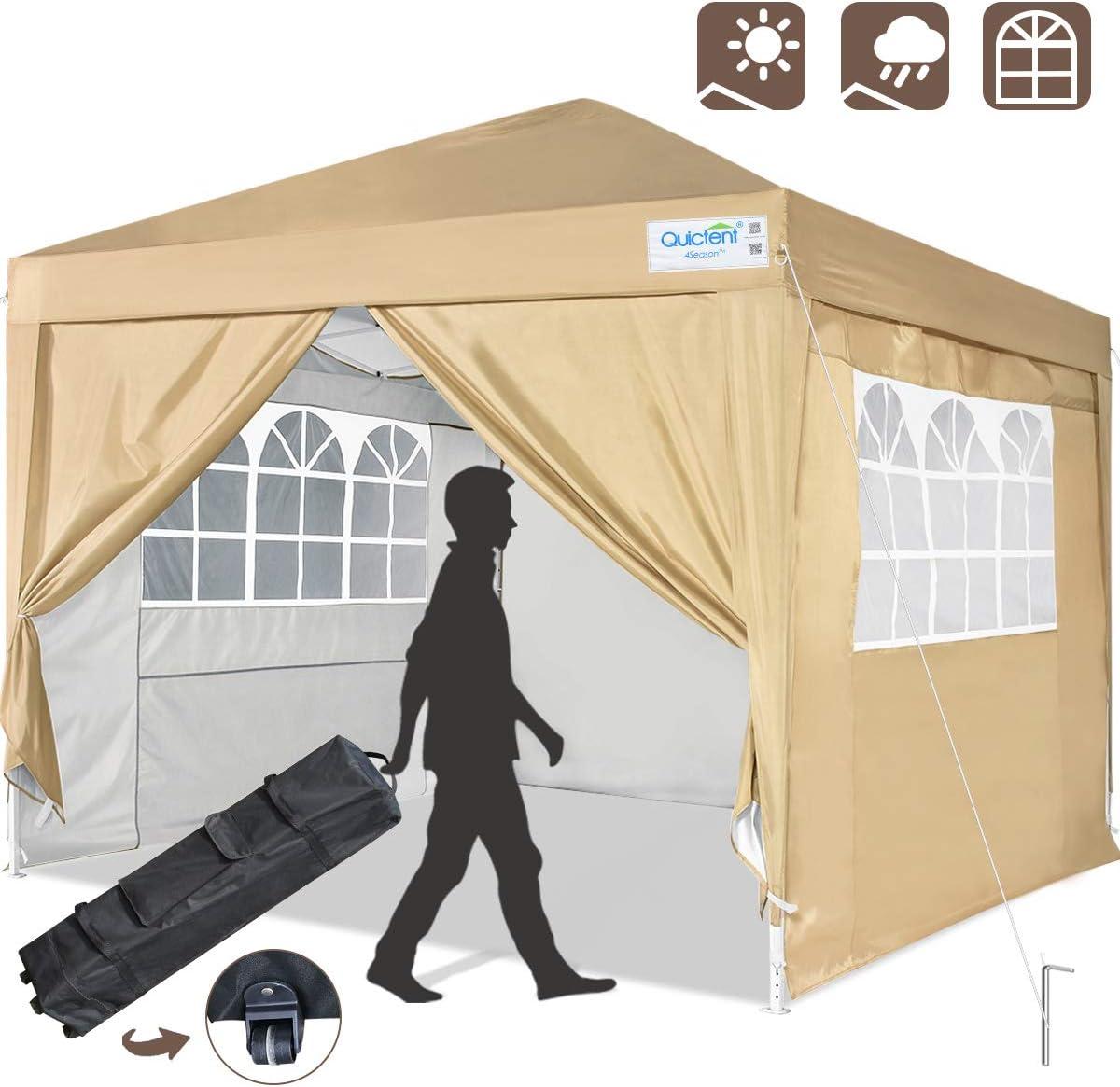 Quictent Silvox 10×10 Ez Pop Up Canopy Tent Instant Canopy Shelter Protable Gazebo Waterproof