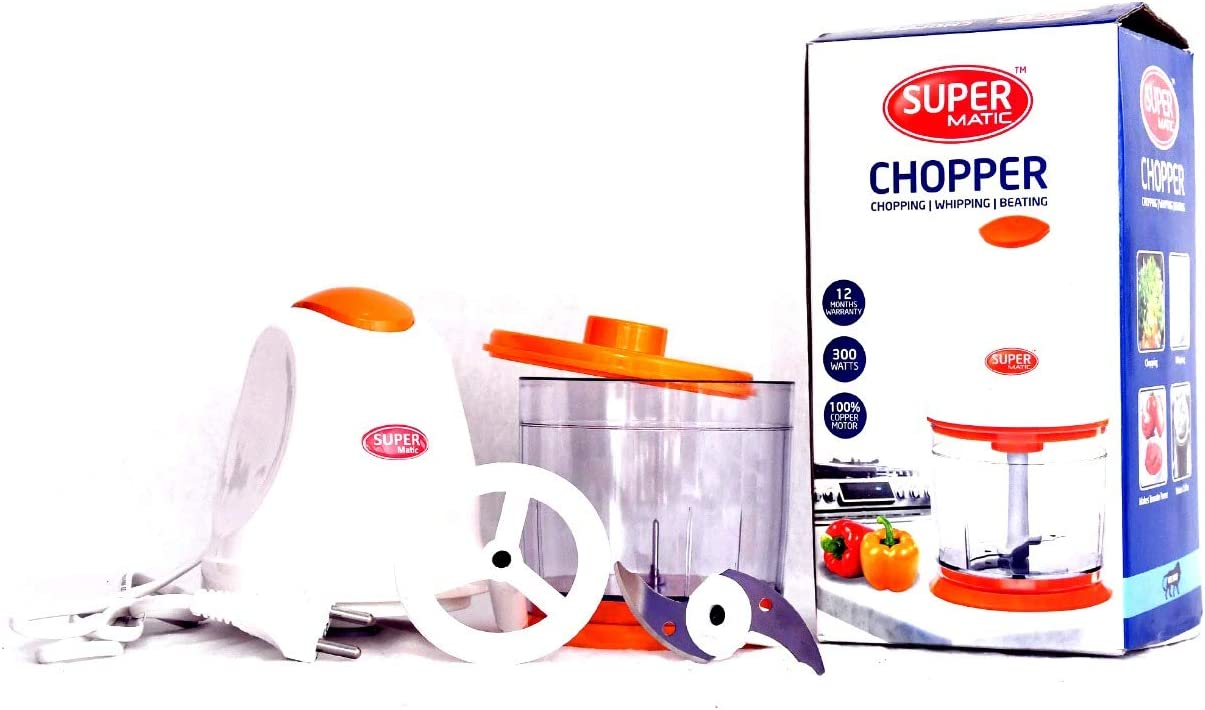 Meat Grinder, Food Chopper,Meat Chopper,Electric Food Processor,Stainless Steel blades, Vegetable Chopper With 300 watts copper motor.