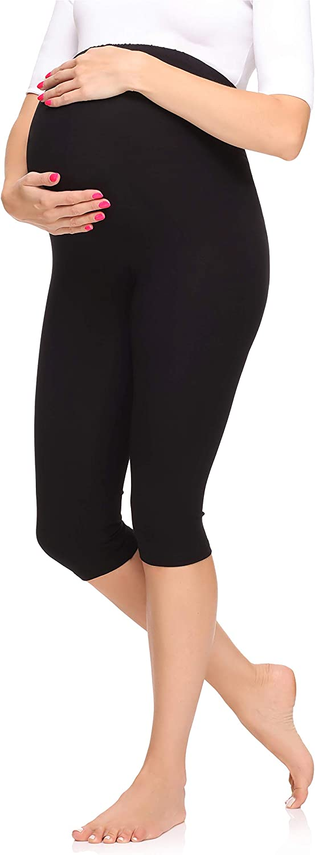Merry Style Leggins Premamá Pantalones 3/4 Mujer MS10-298