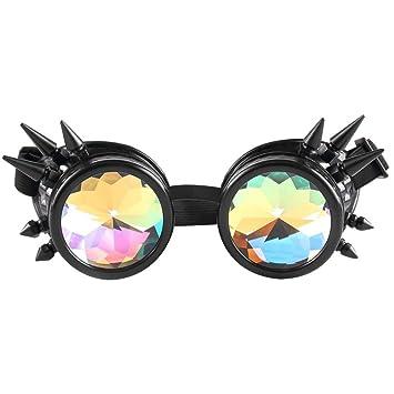 Btruely Herren_Gafas de Sol Kaleidoscope Gafas Mujeres y ...
