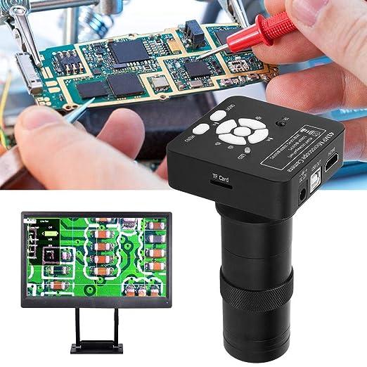 Nannday Cámara de microscopio USB, Lupa de cámara de microscopio ...