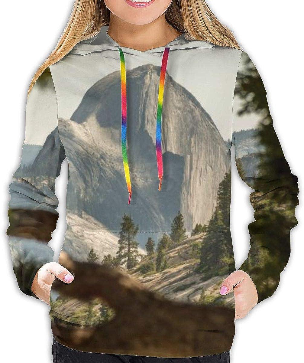 Girls /& Women Long Sleeves Hoodies Pullover Sweatshirt Slim Tunic Top Blouse
