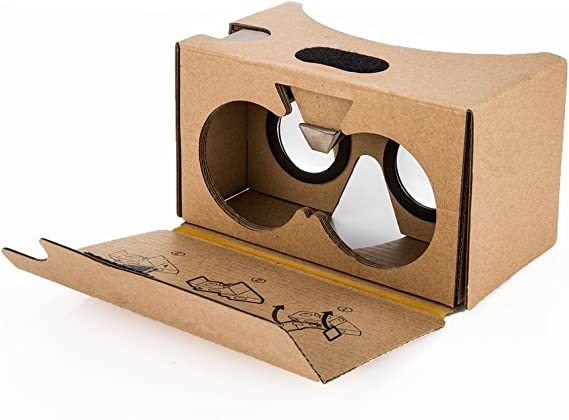 Google Cardboard V2 Inspired Virtual Reality VR Headset by HLPB Cardboard for Android&iPhone