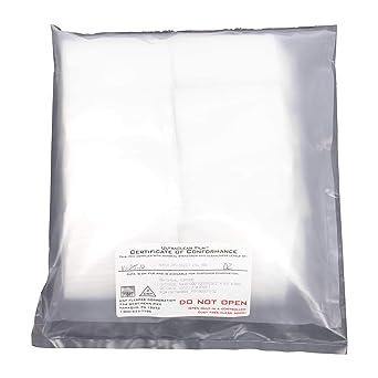 Amazon.com: Bolsa de polietileno transparente de extremo ...