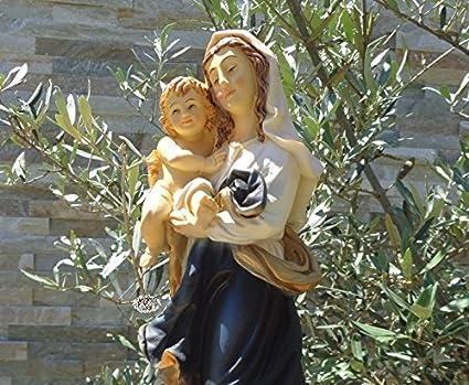36 - 38 cm árbol - Santa María, pintadas a mano y barnizadas - gran madre de Dios con ...