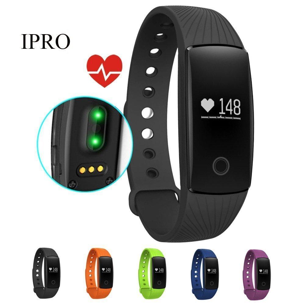 iPro id107 Heart Rate Monitor, Bluetooth 4.0 Smart pulsera ...