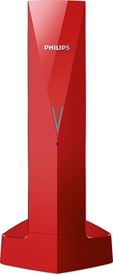 Teléfono inalámbrico de diseño Línea V M3501R/23 - Rojo: Amazon.es: Electrónica