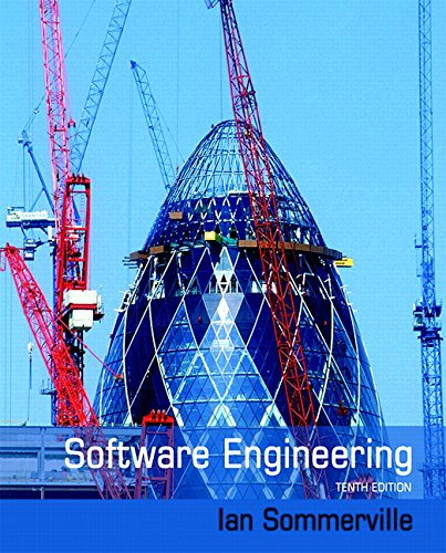 Software Engineering (10th Edition) cover
