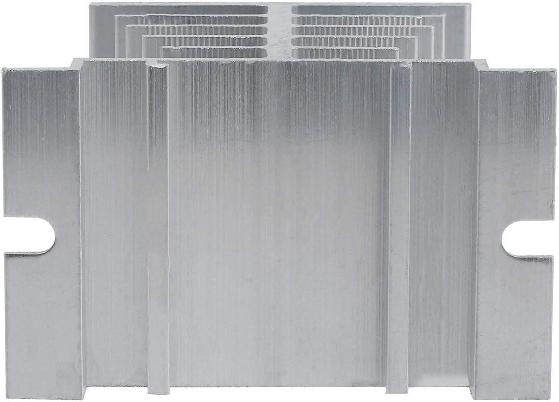 Disipador de calor Sairis de alta calidad de aluminio para rel/é de semiconductores SSR peque/ño tipo disipaci/ón de calor