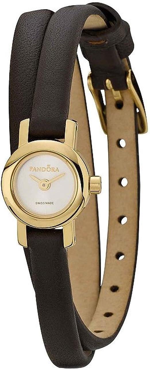 Pandora Damen Armbanduhr Petit Circle 812033WH: : Uhren