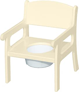 product image for Little Colorado Personalized Linen Potty Chair