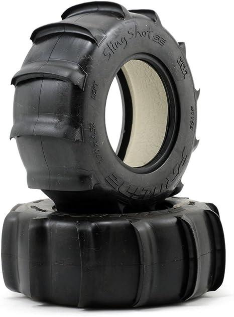 Pro-Line Sling Shot SC Paddle Tires 2.2//3.0 Mounted Renegade Wheels 1158-17