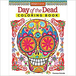 day of the dead coloring book coloring is fun thaneeya mcardle 8656116169982 amazoncom books - Day Of The Dead Coloring Book