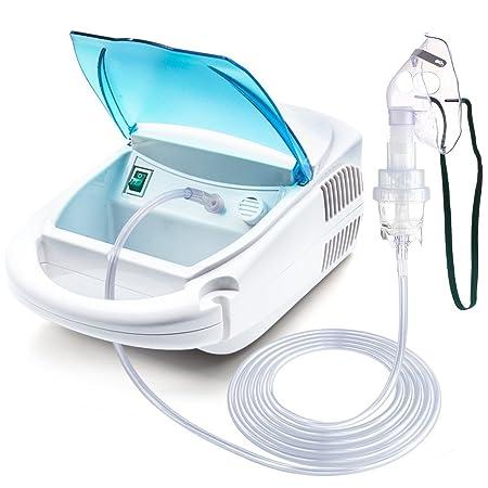 Cool Mist Inhaler Compressor System Kit for Kids Adults Home and Travel