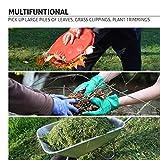 GardenHOME Garden and Yard Leaf Scoops Hand