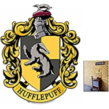 Fan Pack - Hufflepuff Crest from Harry Potter Wall Mounted Cardboard Cutout - Includes 8x10 Star Photo