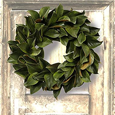 Jane Seymour Magnolia 24-in. Wreath