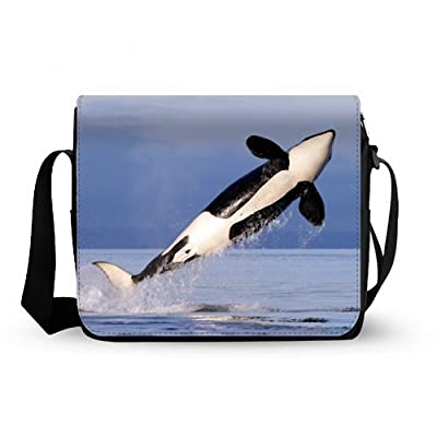 Stylish Whale Oxford Fabric Messenger Bag,Shoulder Bag