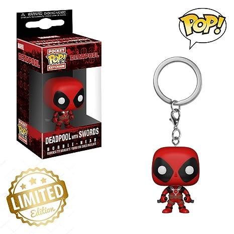 Funko Pop! Llavero: Deadpool Playtime - Deadpool con espada ...