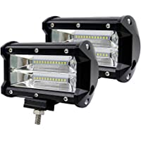 ACUMSTE Focos LED impermeables de niebla 6000K IP67