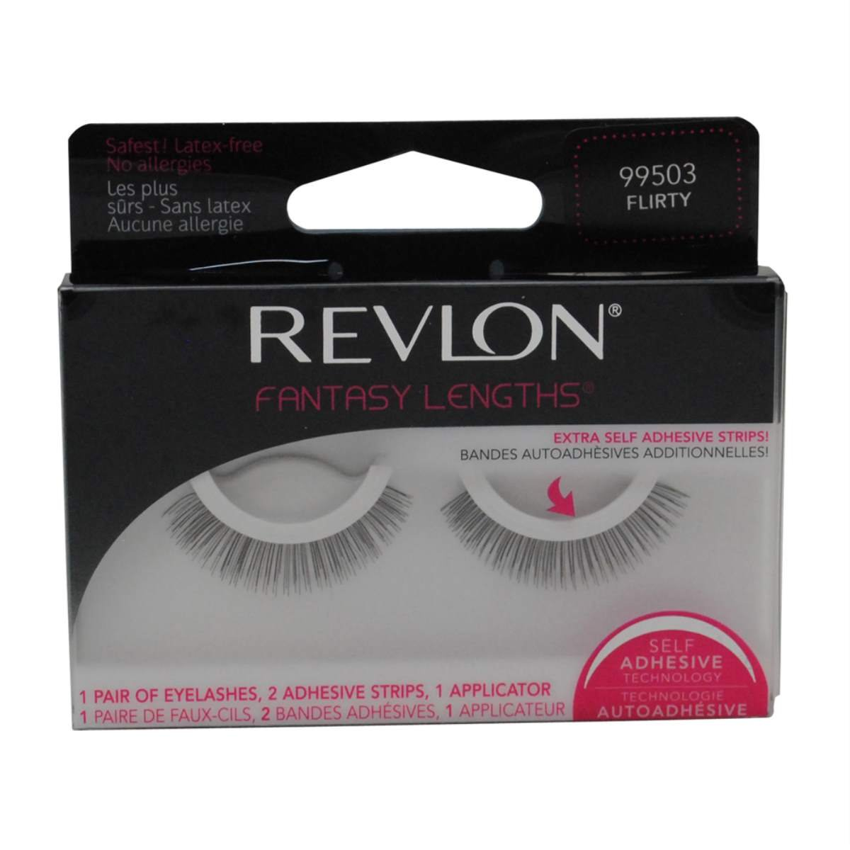 z.Revlon Fantasy Lengths Self-Adhesive Lashes Flirty #503 (99503)