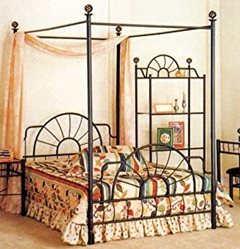 Full Size Canopy Bed  sc 1 st  Amazon.com & Amazon.com: Full Size Canopy Bed: Kitchen u0026 Dining