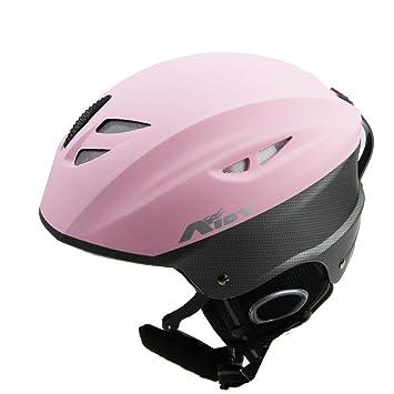 Cascos de esquí casco de esquí Snowboard Aidy casco (L tamaño) Rosa rosa Talla