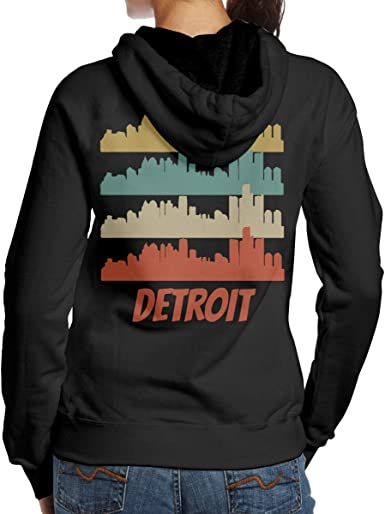 detroit sweatshirts ladies