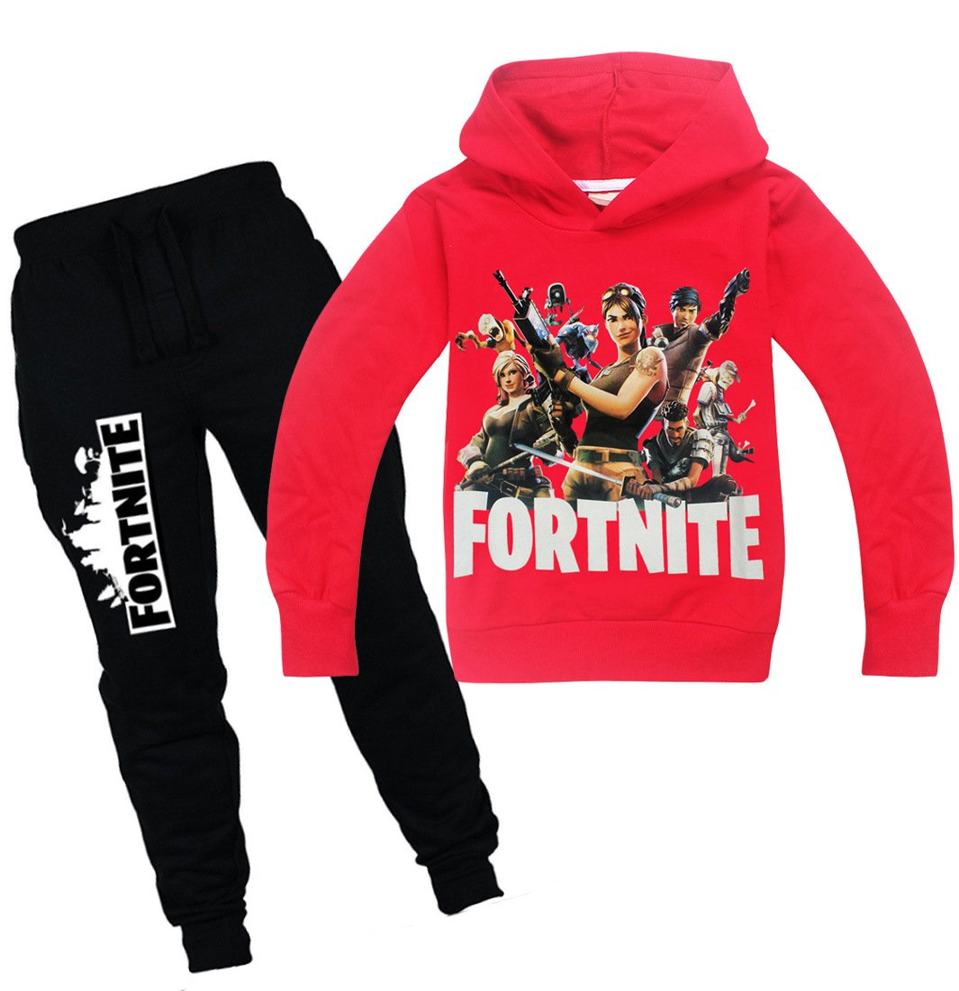 Imilan Kids' Clothing Set Inspired by Fortnite Hoodie Hoodie Long Pants Boys
