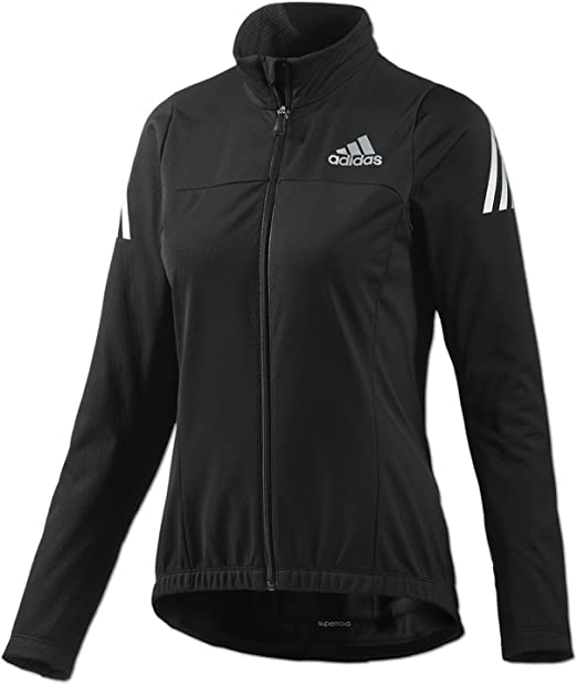 adidas Damen Supernova Cycling Jacke Climawarm Softshell