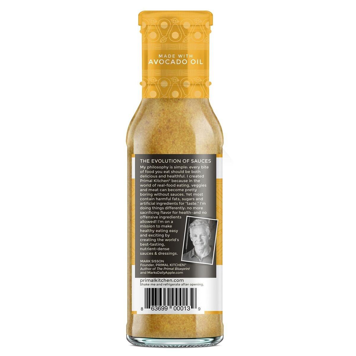 Primal Kitchen - Honey Mustard, Avocado Oil-Based Dressing and ...