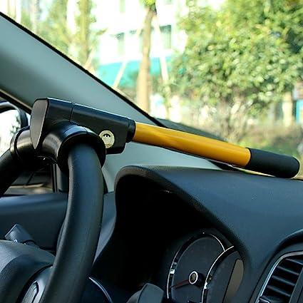 Anti-Theft Security Device Heavy Duty Car Steering Wheel Security Lock Universal