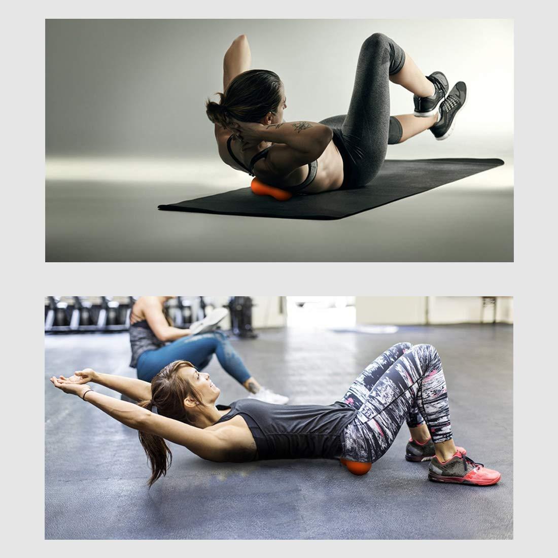 Lacrosse Massage Balls, bola de fascia de yoga, cuidado de ...