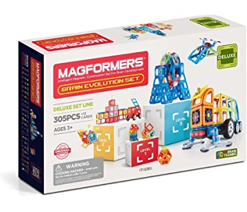 Magformers Brain Evolution 305Pc Set