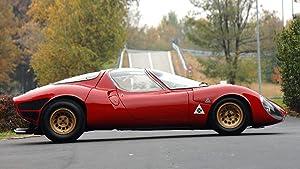 Lilarama USA 1967-Alfa-Romeo-Tipo-33-Stradale-Prototipo-V4- - Super Car Classic Car - Giant Poster Print - Cool Wall Decor Art Print Poster