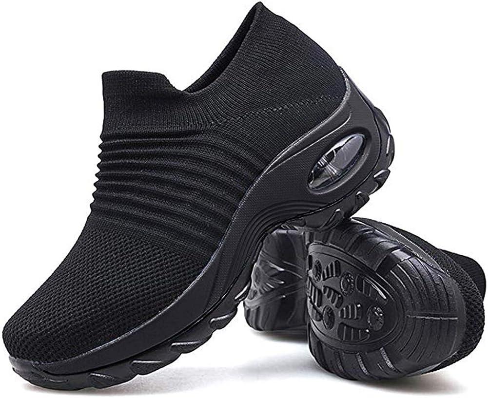 Women Slip On Walking Shoes - Mesh