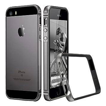 c2a7709557 ESR iPhone SE 5 5s ケース クリア 衝撃吸収バンパー スリム 軽量 電波影響無し ストラップ