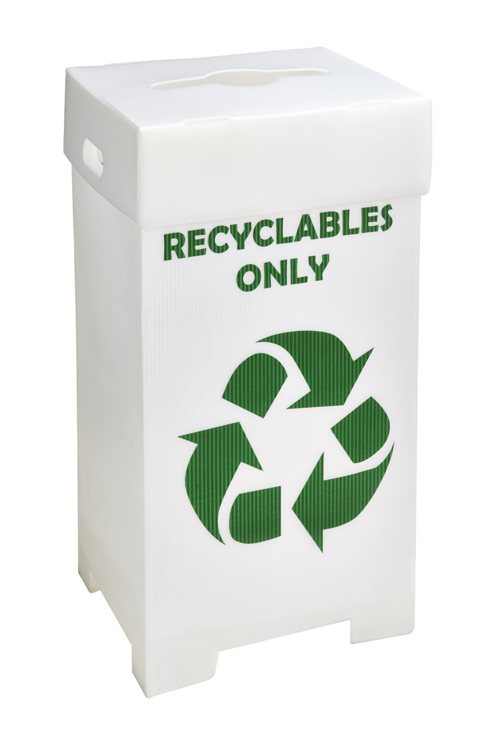 Recycling Container 44 Gallon, 20.25''L x 17''W x 38''H (Pack of 3) DVP#225450
