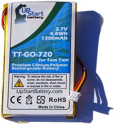 OEM Genuine GPS Tomtom Replacement Battery Loose Model KM1 3.7V 720mAh for Ease VIA 1405//1435 Live 1435TM