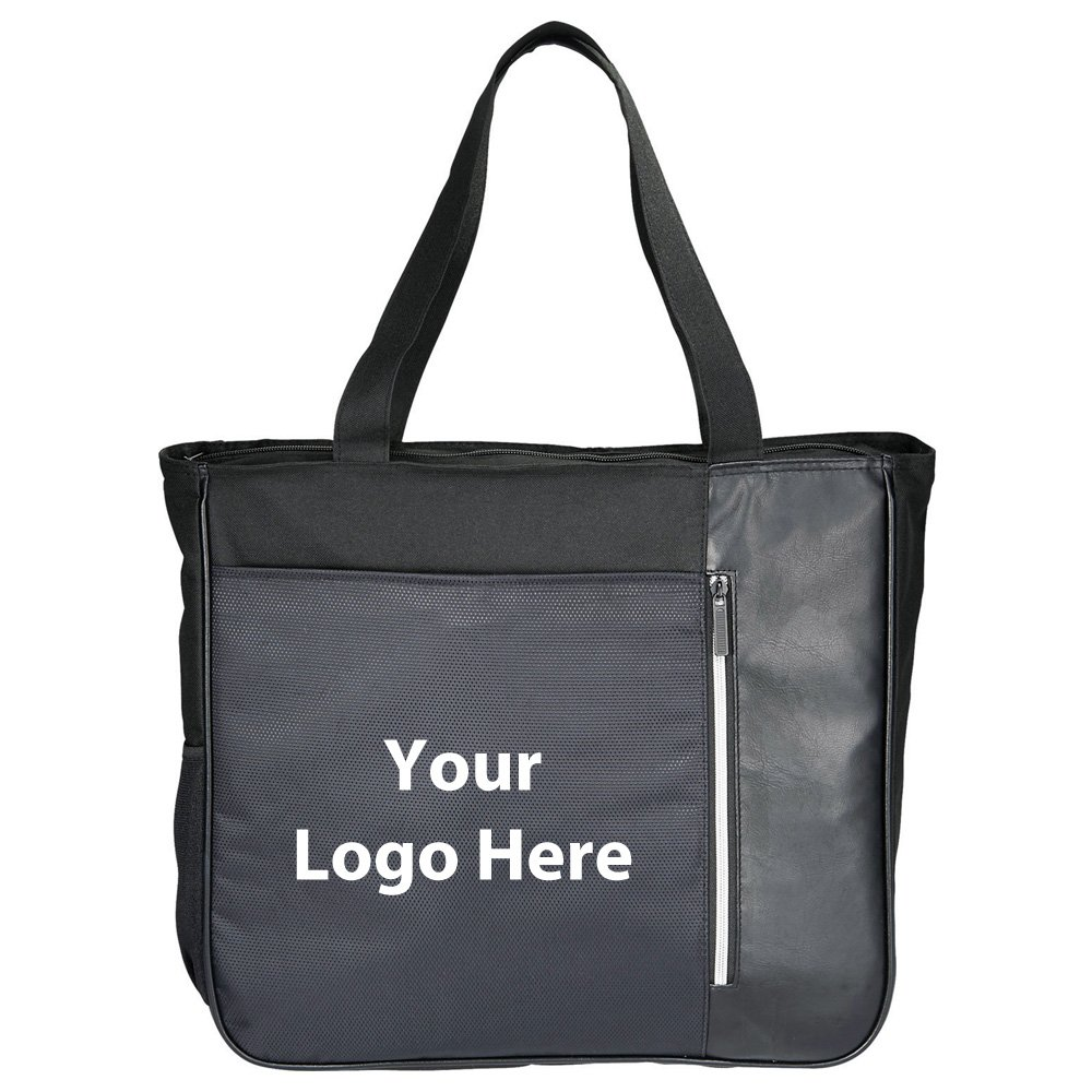 Vault RFID Security 15'' Computer Tote - 36 Quantity - $16.10 Each - PROMOTIONAL PRODUCT / BULK / BRANDED with YOUR LOGO / CUSTOMIZED