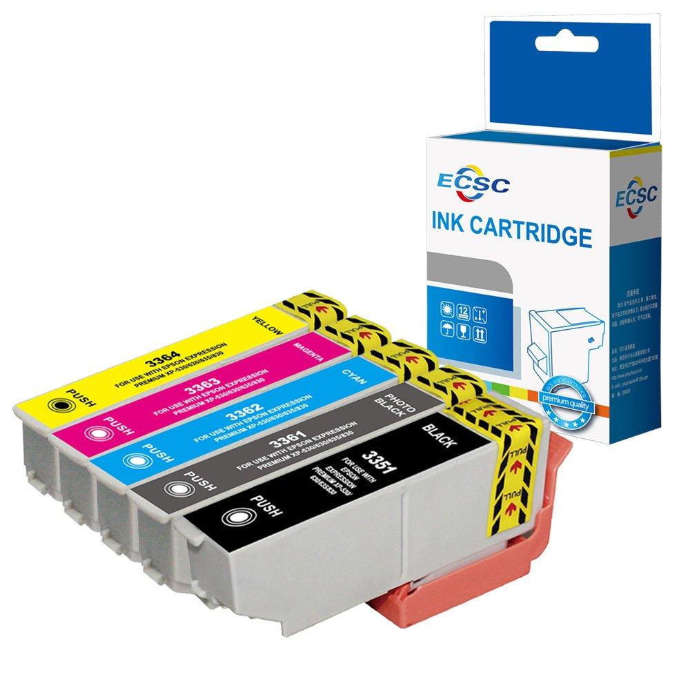 ECSC Compatible Tinta Cartucho Reemplazo por Epson XP-530 XP-540 ...