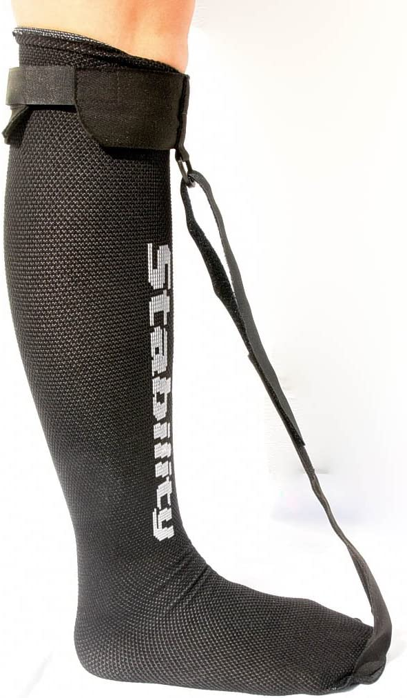 StrictlyStability Single Strap Night Sock for Plantar Fasciitis and Achilles Tendonitis (Regular): Industrial & Scientific