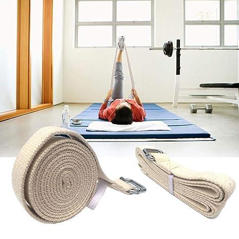 PBFONE Correa de Yoga Cinturones de Doble Anillo con Correa ...