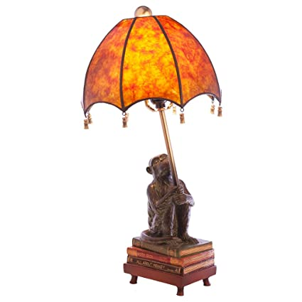 Captivating 21.75u0026quot;H Intellectual Monkey Table Lamp