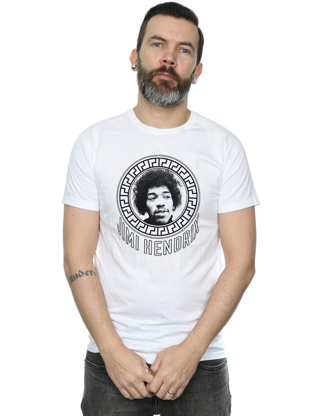 Jimi Hendrix S Pattern Circle Tshirt