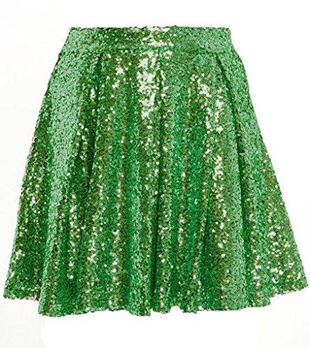Green Sequin Skirt: Amazon.com