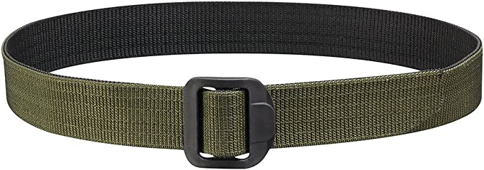 "Propper Tactical Belt 1.5/"" Mens Uniform Duty Nylon Webbing Plastic Buckle Khaki"